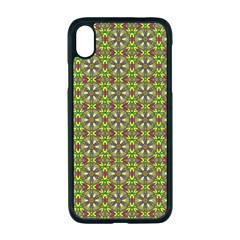 Background Image Pattern Apple Iphone Xr Seamless Case (black)