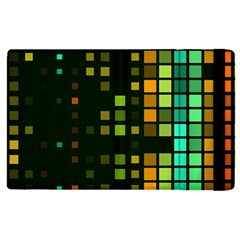 Abstract Plaid Apple Ipad 2 Flip Case by Desi8477