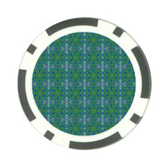 Farbenpracht Kaleidoscope Patterns Poker Chip Card Guard