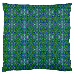 Farbenpracht Kaleidoscope Patterns Large Cushion Case (two Sides)