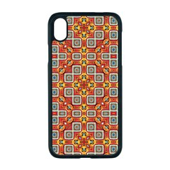 Tile Background Image Pattern Apple Iphone Xr Seamless Case (black)