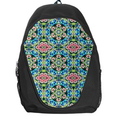 Tile Background Pattern Pattern Backpack Bag by Pakrebo