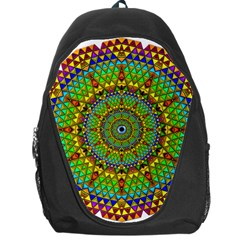 Tile Background Image Graphic Fractal Mandala Backpack Bag