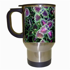 Ivy Lace Flower Flora Garden Travel Mugs (white)