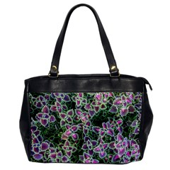 Ivy Lace Flower Flora Garden Oversize Office Handbag
