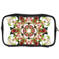 Tile Background Image Star Pattern Toiletries Bag (two Sides)