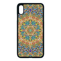 Colorful Pattern Color Apple Iphone Xs Max Seamless Case (black)
