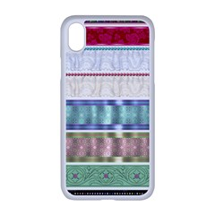Scrapbook Scrap Elements Apple Iphone Xr Seamless Case (white)