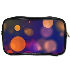 Seamless Pattern Design Tiling Toiletries Bag (one Side)