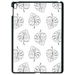 Tropical Leaves Apple Ipad Pro 9 7   Black Seamless Case by goljakoff