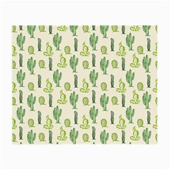 Cactus Pattern Small Glasses Cloth