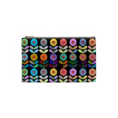 Zappwaits Flowers Cosmetic Bag (small) by zappwaits