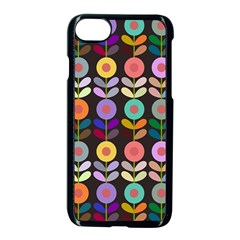 Zappwaits Flowers Apple Iphone 7 Seamless Case (black)