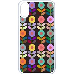 Zappwaits Flowers Apple Iphone Xs Seamless Case (white)