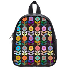 Zappwaits Flowers School Bag (small)
