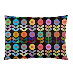 Zappwaits Flowers Pillow Case (two Sides)