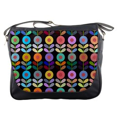 Zappwaits Flowers Messenger Bag