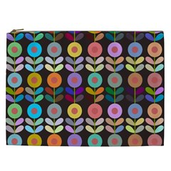 Zappwaits Flowers Cosmetic Bag (xxl)