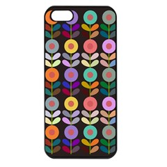 Zappwaits Flowers Apple Iphone 5 Seamless Case (black)