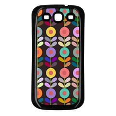 Zappwaits Flowers Samsung Galaxy S3 Back Case (black)