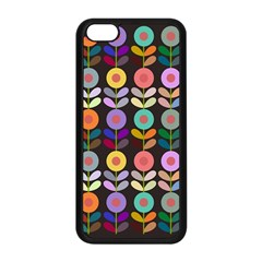 Zappwaits Flowers Apple Iphone 5c Seamless Case (black)