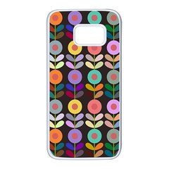 Zappwaits Flowers Samsung Galaxy S7 White Seamless Case