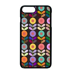 Zappwaits Flowers Apple Iphone 7 Plus Seamless Case (black)