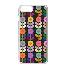 Zappwaits Flowers Apple Iphone 8 Plus Seamless Case (white)
