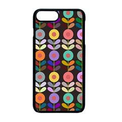 Zappwaits Flowers Apple Iphone 8 Plus Seamless Case (black)