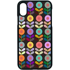 Zappwaits Flowers Apple Iphone Xs Seamless Case (black)