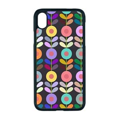 Zappwaits Flowers Apple Iphone Xr Seamless Case (black)