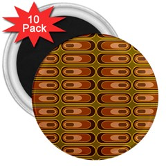 Zappwaits Retro 3  Magnets (10 Pack)