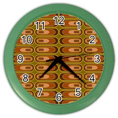 Zappwaits Retro Color Wall Clock
