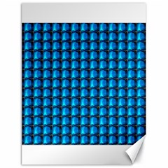 Background Pattern Structure Blue Canvas 18  X 24