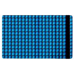 Background Pattern Structure Blue Apple Ipad 2 Flip Case by AnjaniArt