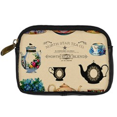 Teacups & Teapots Digital Camera Leather Case by WensdaiAddamns