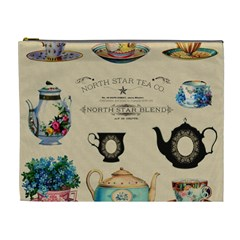 Teacups & Teapots Cosmetic Bag (xl) by WensdaiAddamns