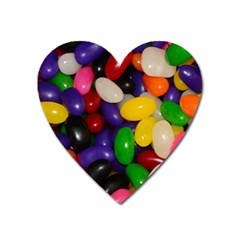 Jelly Beans Heart Magnet by pauchesstore