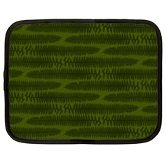 Seaweed Green Netbook Case (xxl) by WensdaiAmbrose