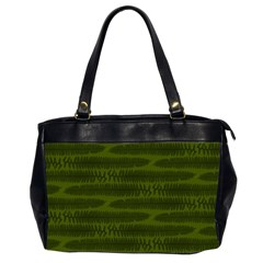Seaweed Green Oversize Office Handbag (2 Sides) by WensdaiAmbrose