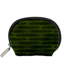 Seaweed Green Accessory Pouch (small) by WensdaiAddamns