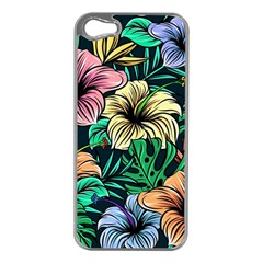 Hibiscus Dream Apple Iphone 5 Case (silver)