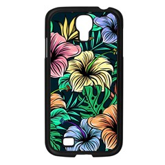 Hibiscus Dream Samsung Galaxy S4 I9500/ I9505 Case (black)