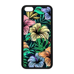Hibiscus Dream Apple Iphone 5c Seamless Case (black)