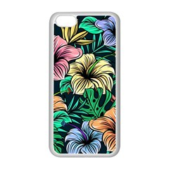 Hibiscus Dream Apple Iphone 5c Seamless Case (white)