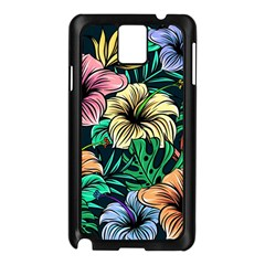 Hibiscus Dream Samsung Galaxy Note 3 N9005 Case (black)