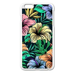 Hibiscus Dream Apple Iphone 6 Plus/6s Plus Enamel White Case