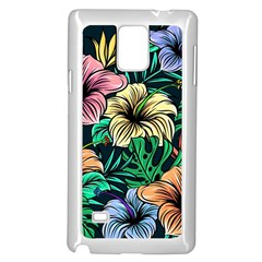 Hibiscus Dream Samsung Galaxy Note 4 Case (white)