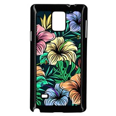 Hibiscus Dream Samsung Galaxy Note 4 Case (black)