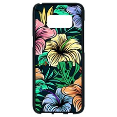 Hibiscus Dream Samsung Galaxy S8 Black Seamless Case